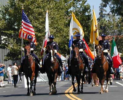 San Jose Police Mounted Unit