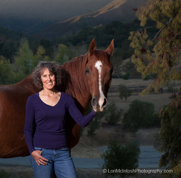 Deb Sell and Horse